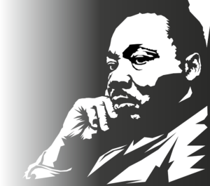 Martin Luther King Portrait Face  - OpenClipart-Vectors / Pixabay